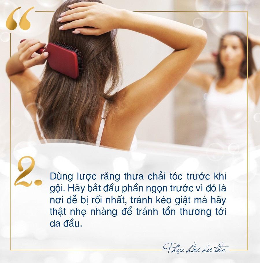 Toàn mẹo chăm sóc phục hồi tóc hư tổn tại nhà đơn giản mà không phải ai cũng biết - Ảnh 2.