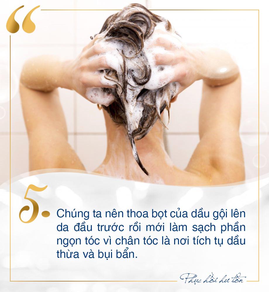 Toàn mẹo chăm sóc phục hồi tóc hư tổn tại nhà đơn giản mà không phải ai cũng biết - Ảnh 5.