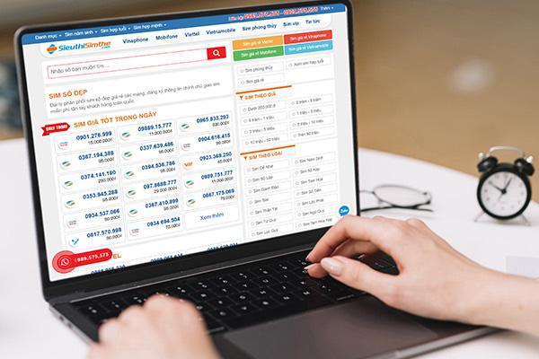 Thủ thuật chọn số đẹp giá rẻ khi mua sim online - Ảnh 2.