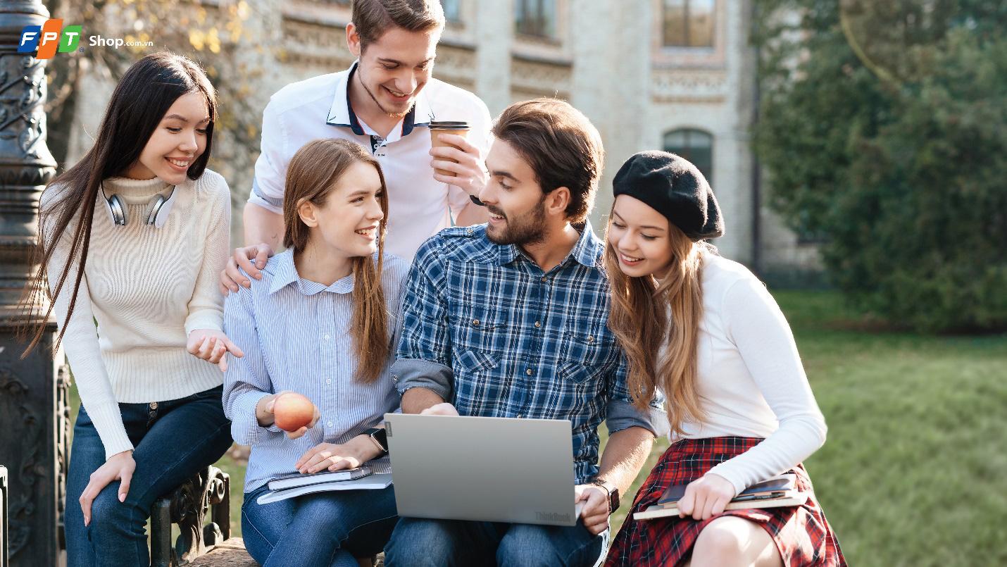 FPT Shop giảm ngay 1 triệu và giao hàng miễn phí cho Laptop Lenovo ThinkBook - Ảnh 1.