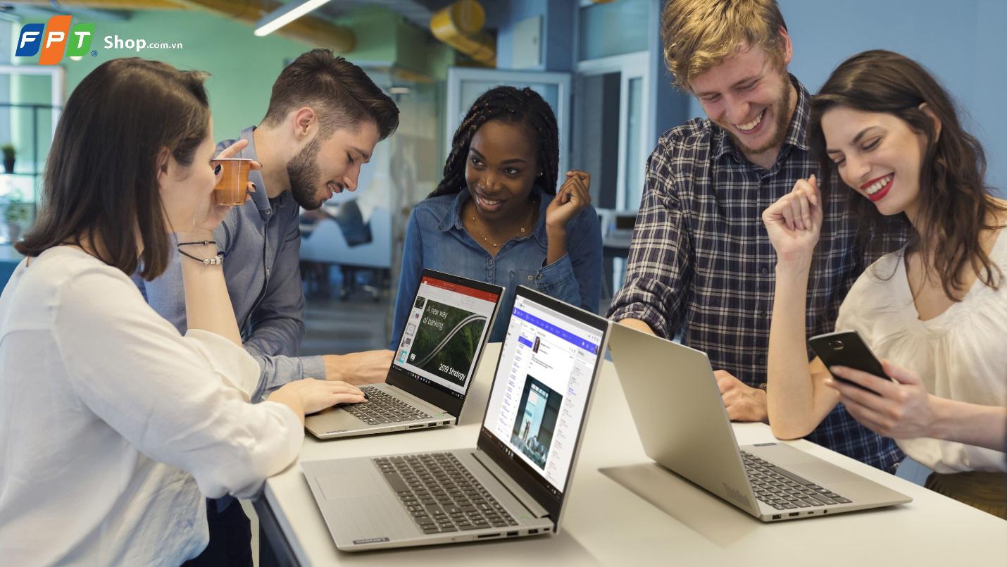 FPT Shop giảm ngay 1 triệu và giao hàng miễn phí cho Laptop Lenovo ThinkBook - Ảnh 2.