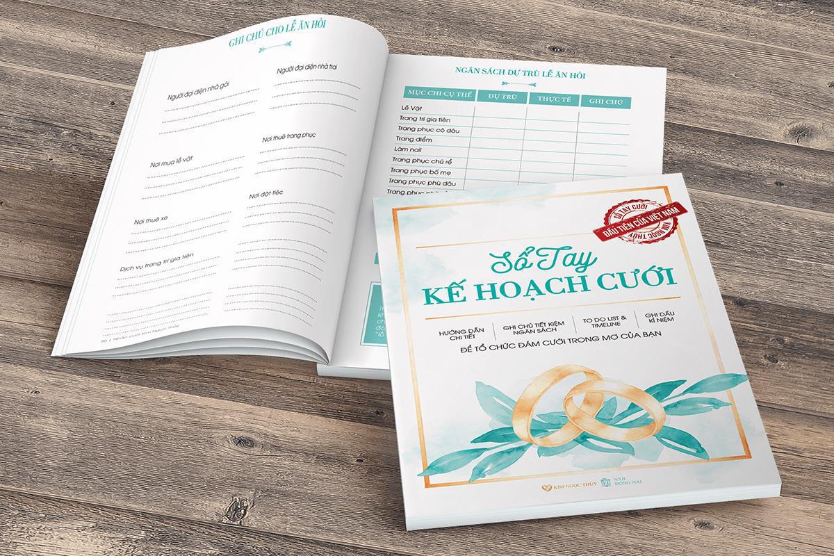 Đám cưới không khó, nếu bạn sở hữu bí kíp Sổ Tay Cưới Kim Ngọc Thủy - Ảnh 1.