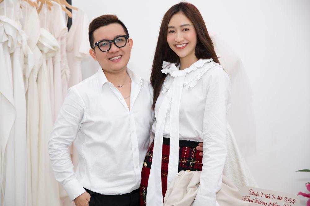 MC Liêu Hà Trinh, Á hậu Hà Thu dự tiệc khai trương Nhà mốt 9192 - Ảnh 4.
