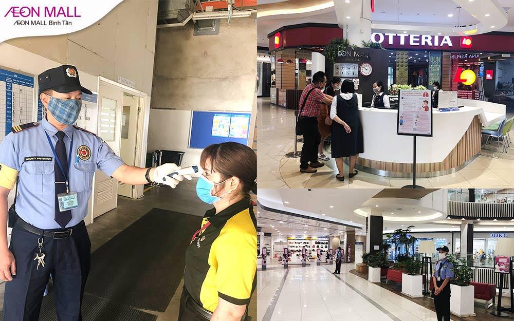 Đẩy lùi dịch bệnh - Mua sắm an toàn tại Aeon Mall Bình Tân - Ảnh 4.