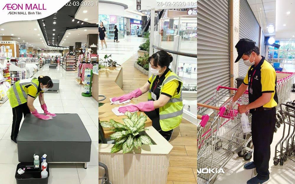 Đẩy lùi dịch bệnh - Mua sắm an toàn tại Aeon Mall Bình Tân - Ảnh 5.