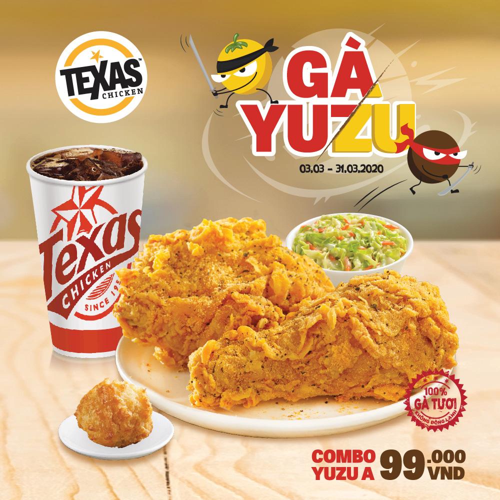 Mê mẩn món mới: gà Yuzu tại hệ thống Texas Chicken - Ảnh 2.