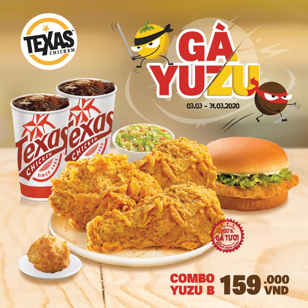 Mê mẩn món mới: gà Yuzu tại hệ thống Texas Chicken - Ảnh 3.
