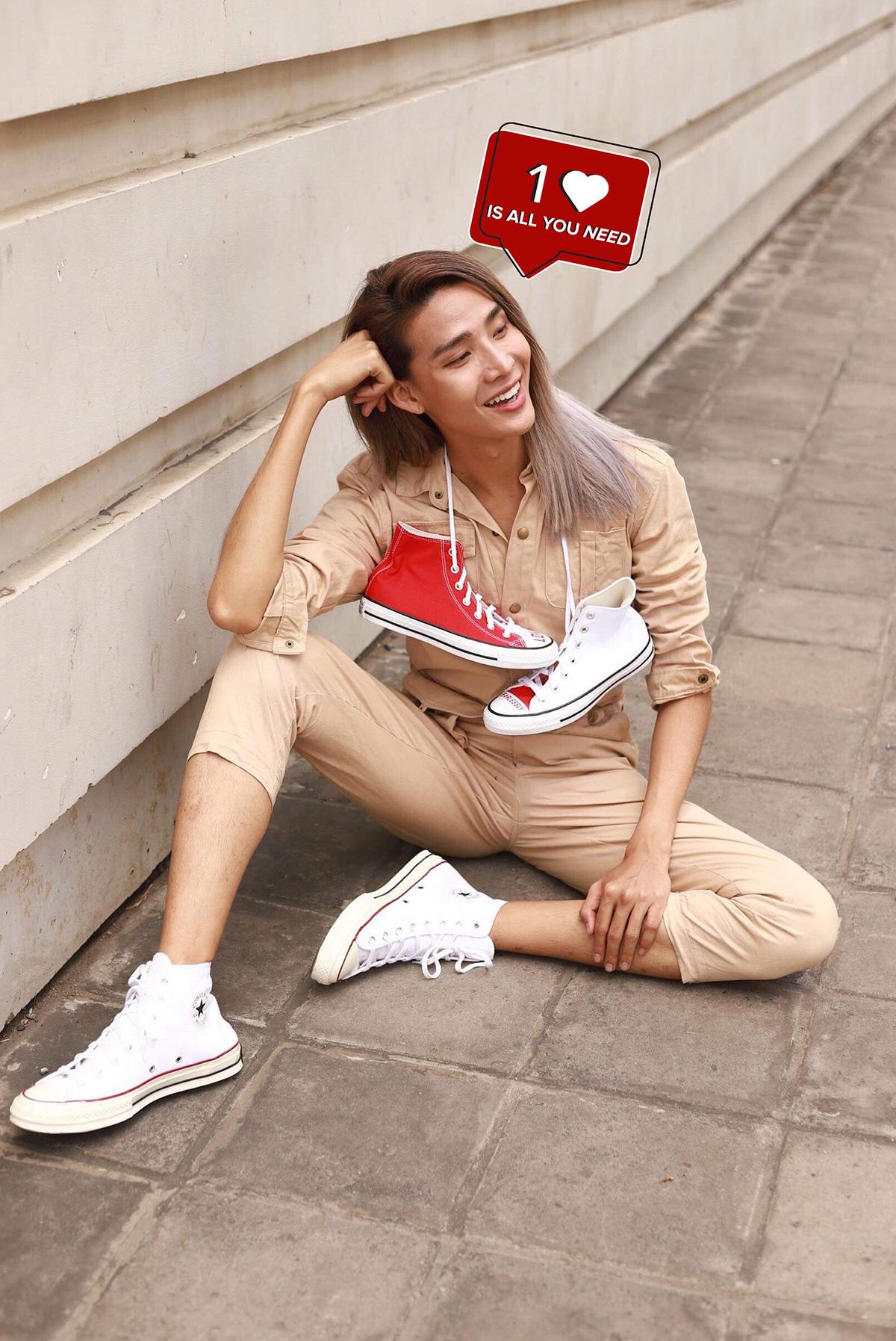 "Kelbin Lei xuất hiện trong chiến dịch kêu gọi ""Love Yourself First"" của Converse - Ảnh 9."