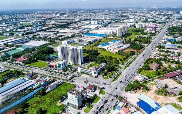Xu hướng đầu tư đất nền dịch chuyển về các thành phố mới ven TP.HCM - Ảnh 1.
