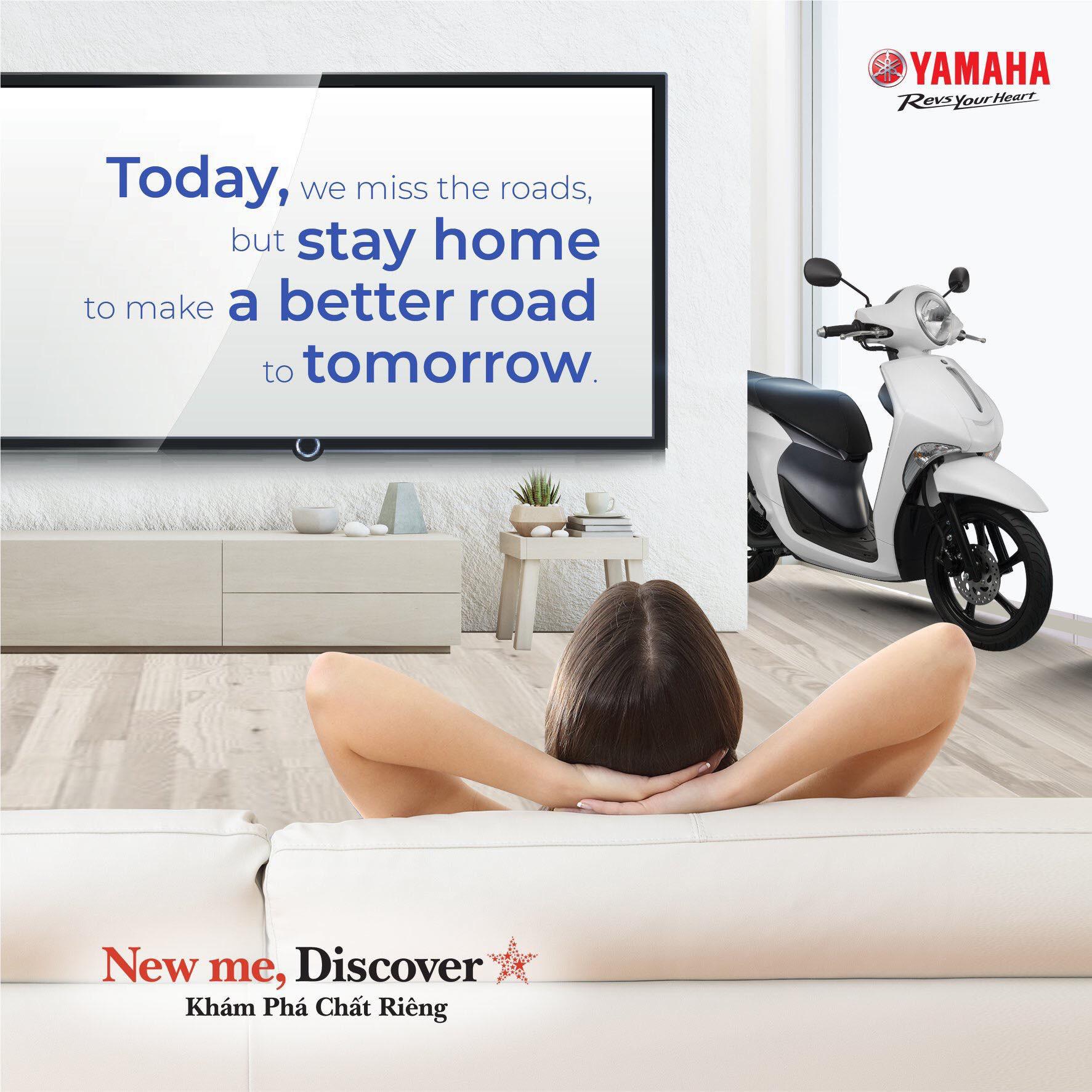 Yamaha Motor Việt Nam dừng sản xuất 2 tuần: Lan tỏa thông điệp an toàn giữa mùa Covid-19 - Ảnh 1.
