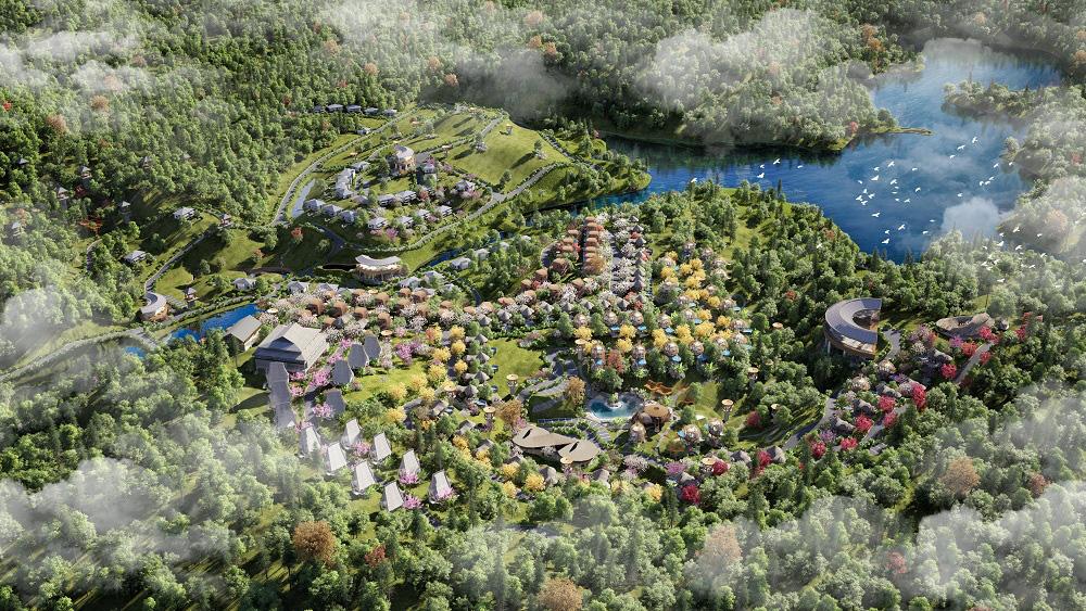 Trò chuyện với kiến trúc sư thiết kế của những mẫu biệt thự nghỉ dưỡng ở Hòa Bình - Ảnh 1.