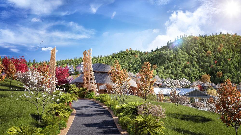 Trò chuyện với kiến trúc sư thiết kế của những mẫu biệt thự nghỉ dưỡng ở Hòa Bình - Ảnh 2.