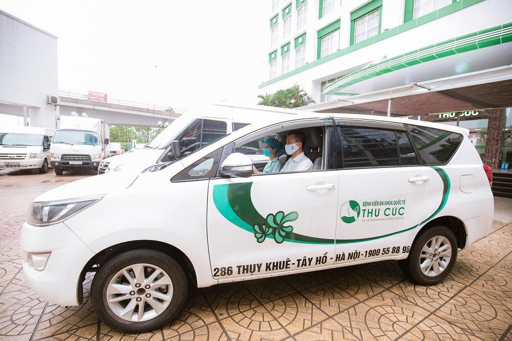 Bệnh viện ĐKQT Thu Cúc tư vấn khám chữa bệnh online miễn phí, sản phụ được hỗ trợ chi phí sinh con và hỗ trợ xe đưa đón - Ảnh 3.