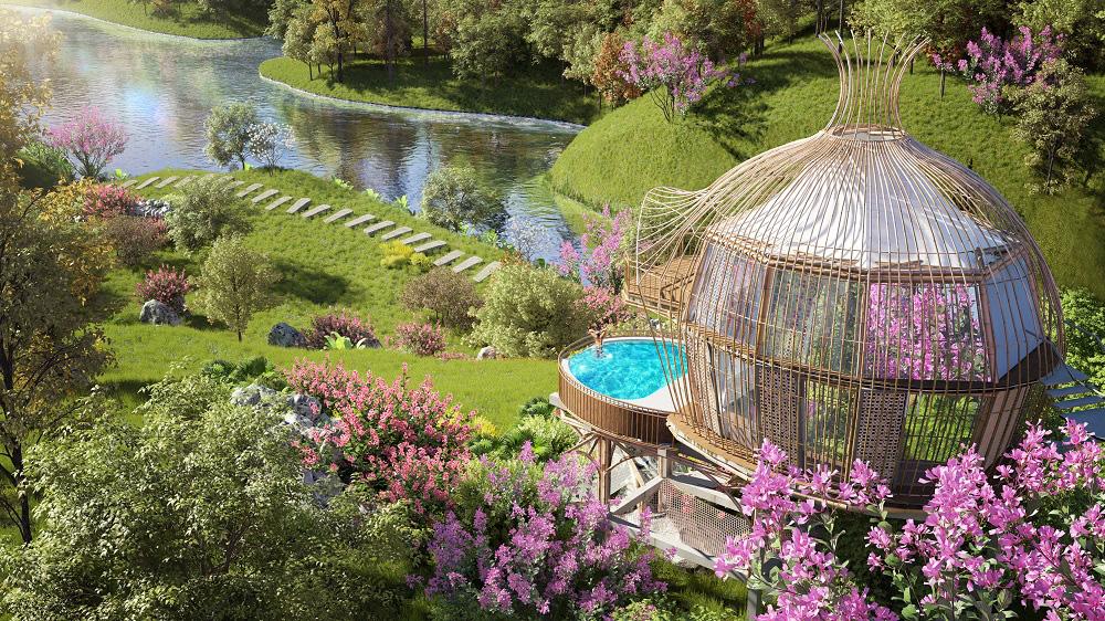 Trò chuyện với kiến trúc sư thiết kế của những mẫu biệt thự nghỉ dưỡng ở Hòa Bình - Ảnh 4.