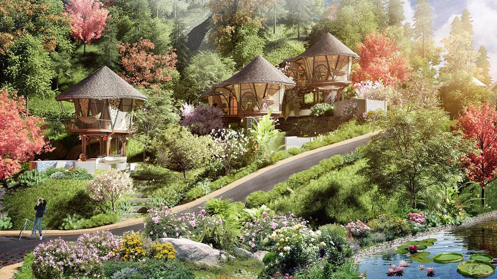 Trò chuyện với kiến trúc sư thiết kế của những mẫu biệt thự nghỉ dưỡng ở Hòa Bình - Ảnh 5.