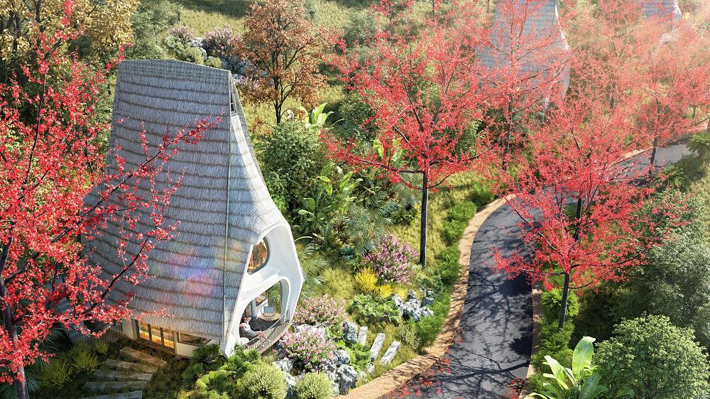 Trò chuyện với kiến trúc sư thiết kế của những mẫu biệt thự nghỉ dưỡng ở Hòa Bình - Ảnh 6.
