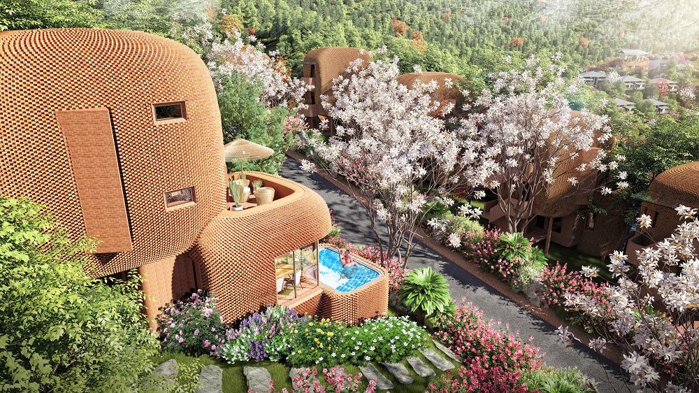 Trò chuyện với kiến trúc sư thiết kế của những mẫu biệt thự nghỉ dưỡng ở Hòa Bình - Ảnh 8.