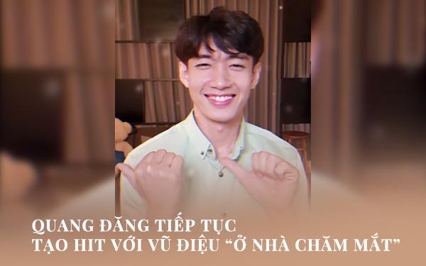 """Quang Đăng tiếp tục tạo HIT với vũ điệu """"Ở nhà chăm mắt"""", nghỉ dịch rảnh rỗi còn chờ gì mà không """"đu trend""""! - Ảnh 1."""