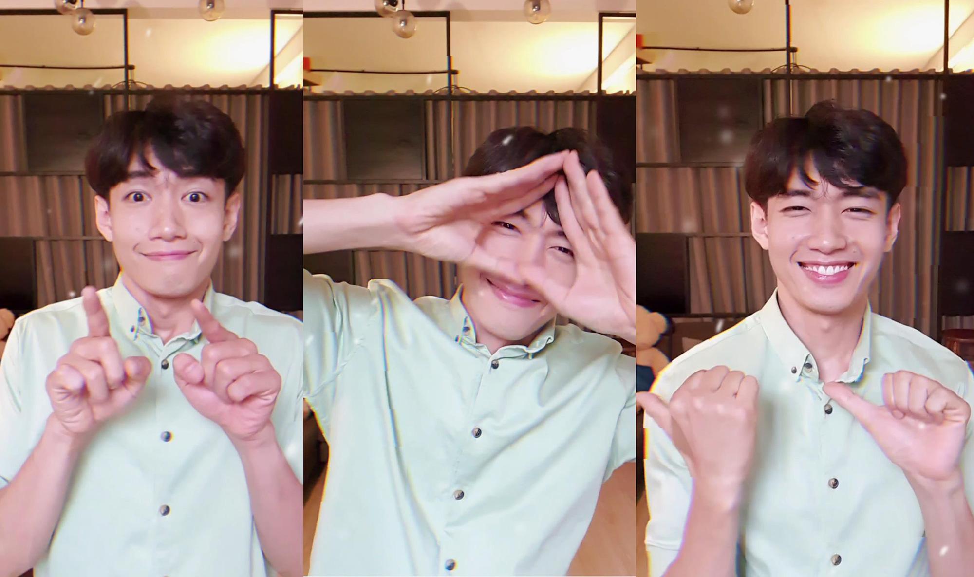 """Quang Đăng tiếp tục tạo HIT với vũ điệu """"Ở nhà chăm mắt"""", nghỉ dịch rảnh rỗi còn chờ gì mà không """"đu trend""""! - Ảnh 3."""