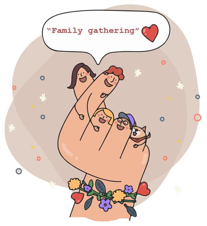 Social distancing đã tạo nên family gathering như thế nào thời Covid? - Ảnh 12.