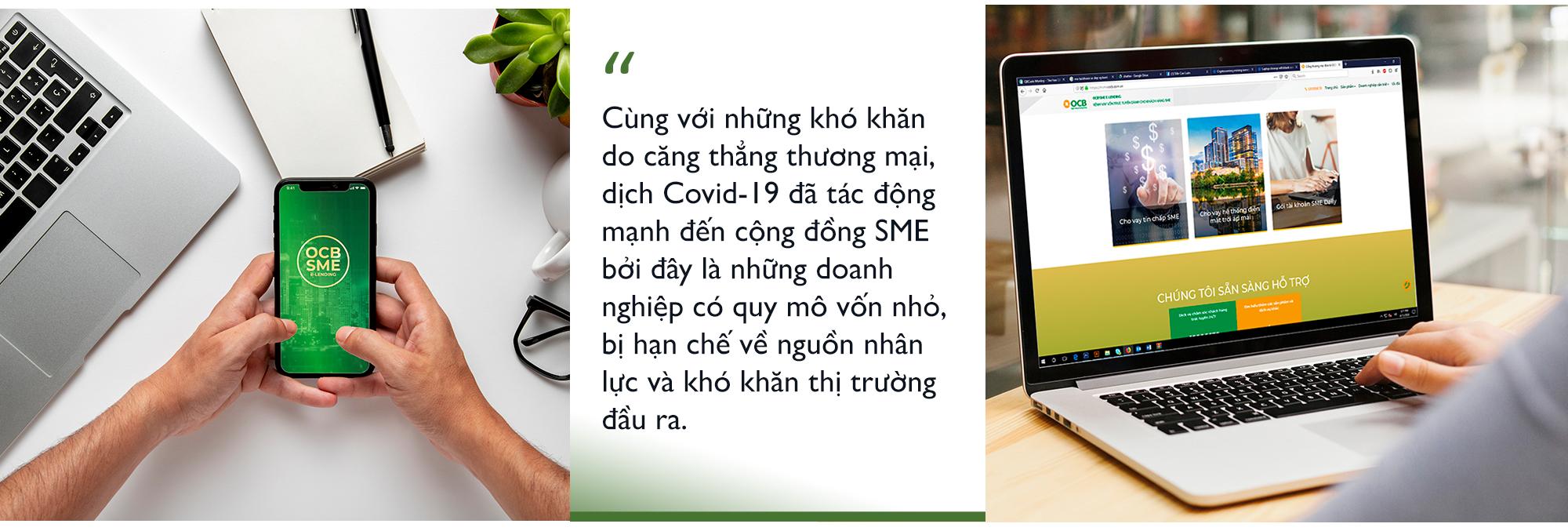 """Chỉ một """"cú nhấp chuột"""" OCB SME E-lending sẽ giúp khách hàng SME tiếp cận vốn vay trực tiếp từ ngân hàng - Ảnh 3."""