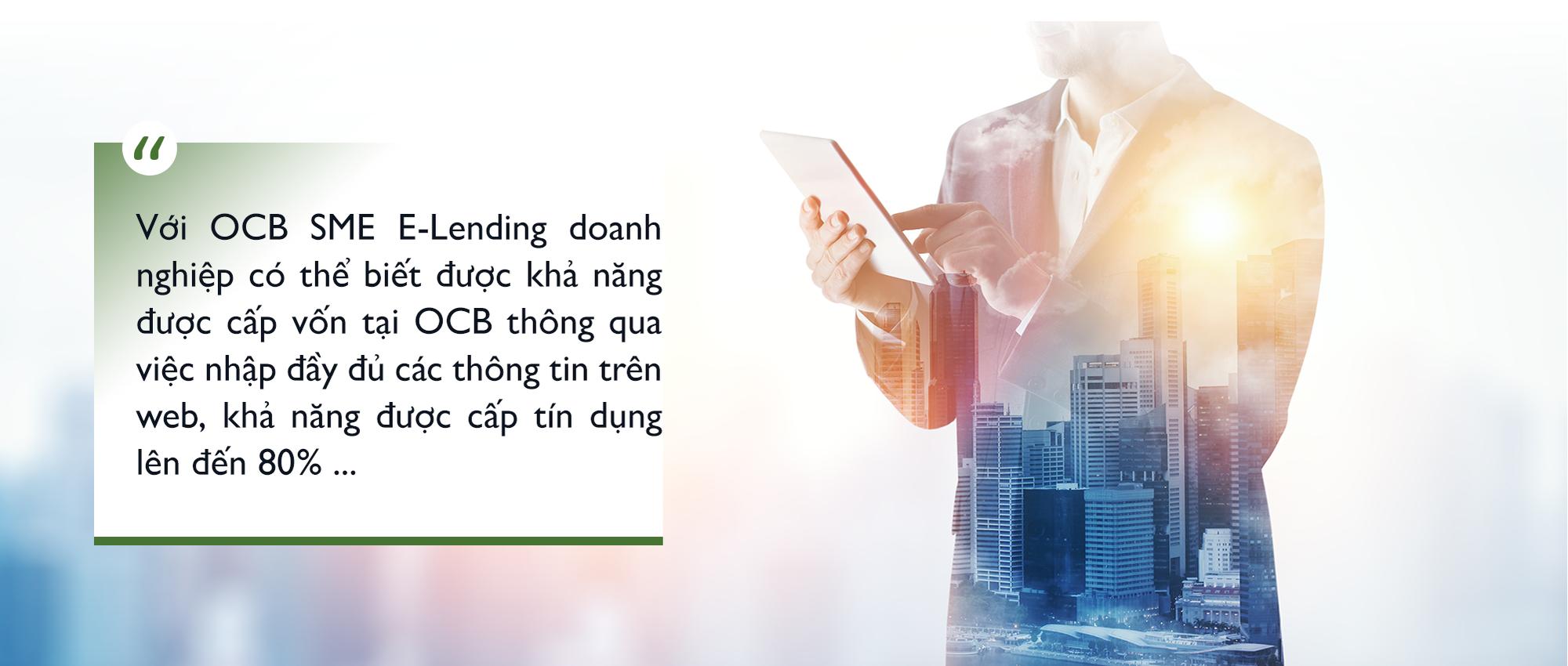 """Chỉ một """"cú nhấp chuột"""" OCB SME E-lending sẽ giúp khách hàng SME tiếp cận vốn vay trực tiếp từ ngân hàng - Ảnh 7."""