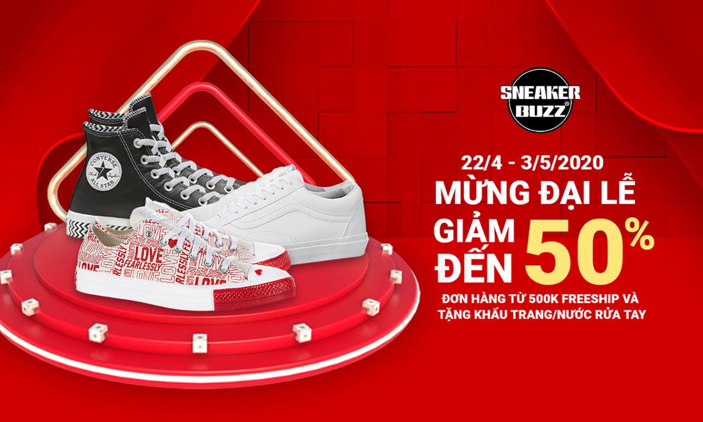Top 6 item không thể bỏ qua trong dịp sale 30/4-1/5 tại Sneaker Buzz - Ảnh 1.