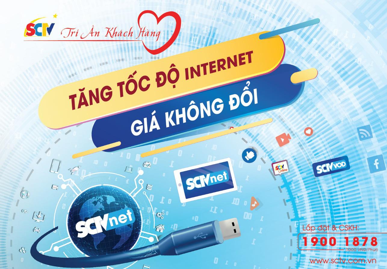 """SCTV nâng tốc độ internet, khách hàng thỏa sức làm việc tại nhà phòng chống """"Cô-Vy"""" - Ảnh 1."""