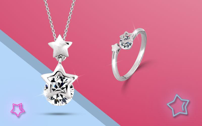 """DOJI ra mắt bộ sưu tập """"Lucky Star"""", bán trang sức online với ưu đãi khủng - Ảnh 2."""