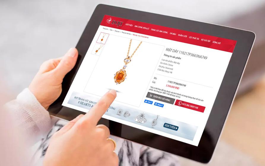 """DOJI ra mắt bộ sưu tập """"Lucky Star"""", bán trang sức online với ưu đãi khủng - Ảnh 5."""
