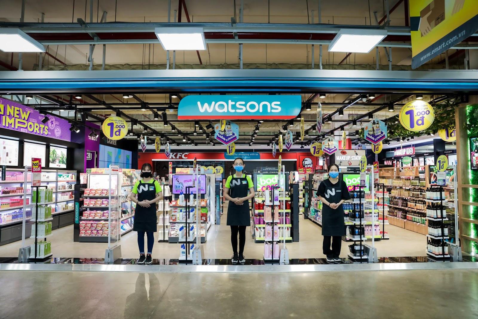 Watsons tung deal khủng chào đón cửa hàng thứ 2 tại Emart Gò Vấp - Ảnh 1.