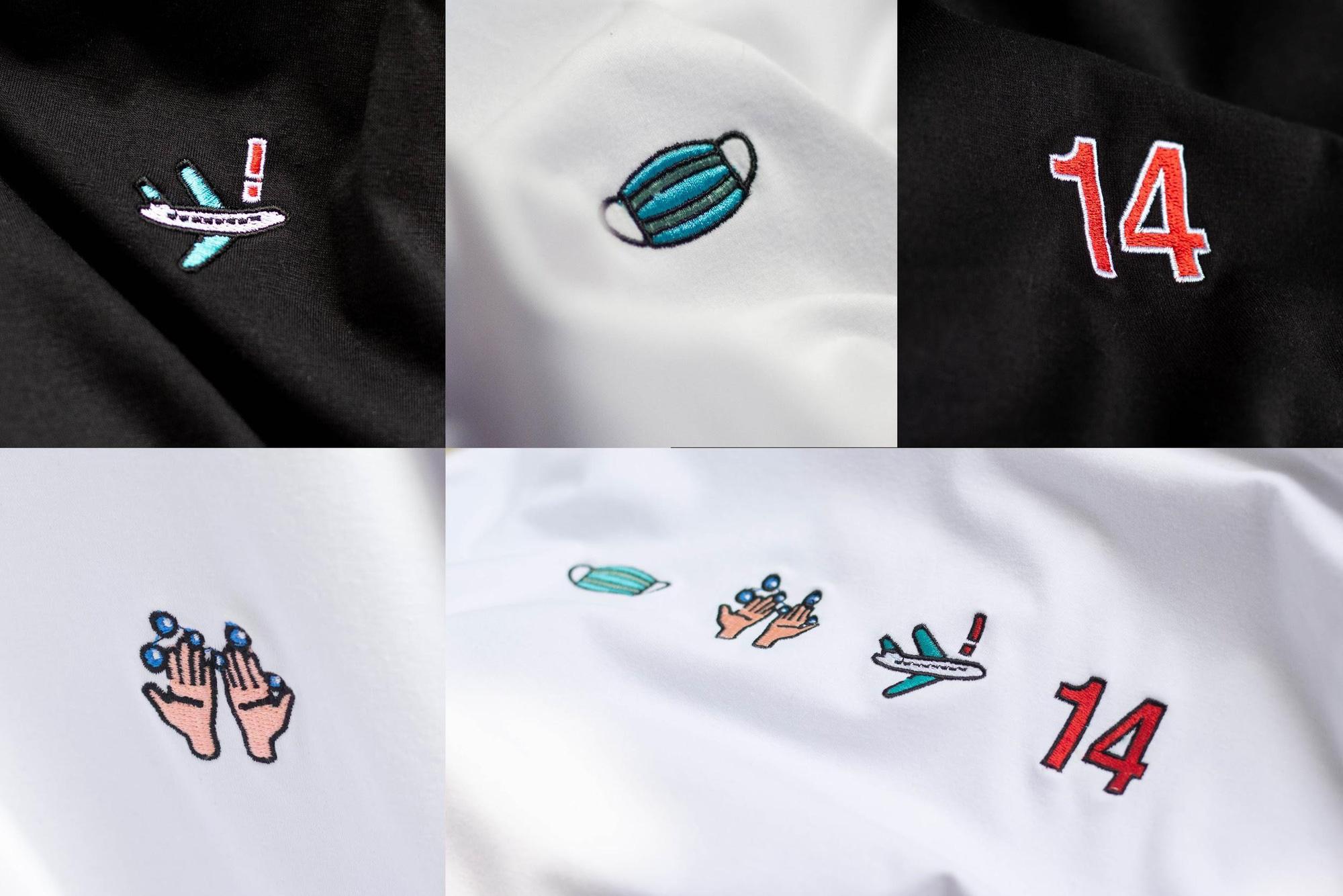 10.000 thông điệp đã được truyền đi chỉ từ một sản phẩm - Đây chính là chiếc áo được hàng loạt hot face lựa chọn mùa COVID-19 - Ảnh 2.
