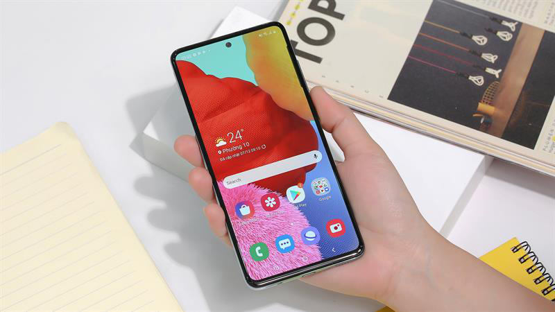 """Samsung """"phá đảo"""" với Galaxy A51, phiên bản nâng cấp mới RAM 8GB độc quyền tại Thế Giới Di Động - Ảnh 1."""