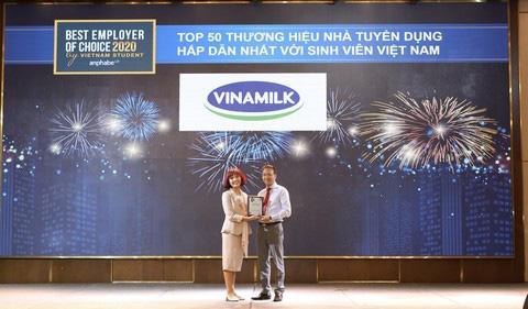 Vinamilk là một trong những nhà tuyển dụng hấp dẫn nhất đối với thế hệ trẻ - lực lượng lao động của tương lai - Ảnh 1.