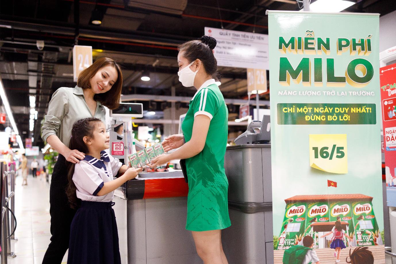 """MILO tặng 2 triệu hộp sữa tiếp thêm năng lượng cho trẻ hào hứng """"back to school"""" - Ảnh 3."""