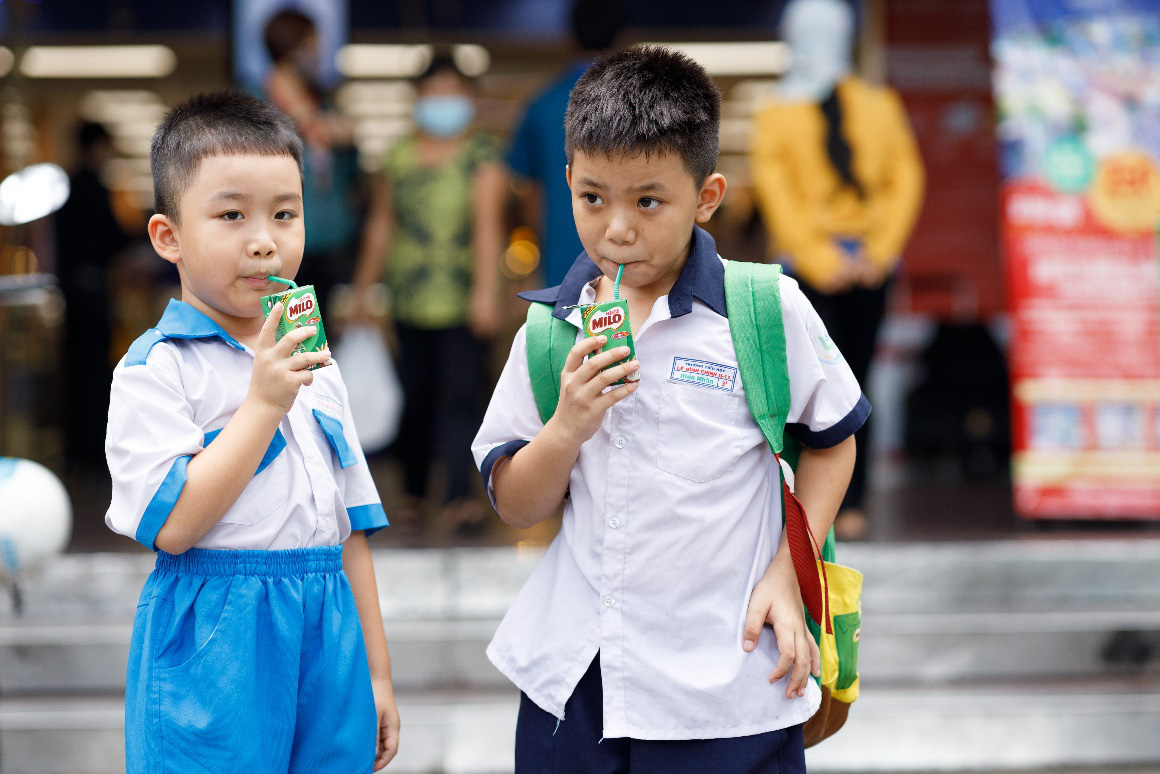 """MILO tặng 2 triệu hộp sữa tiếp thêm năng lượng cho trẻ hào hứng """"back to school"""" - Ảnh 6."""
