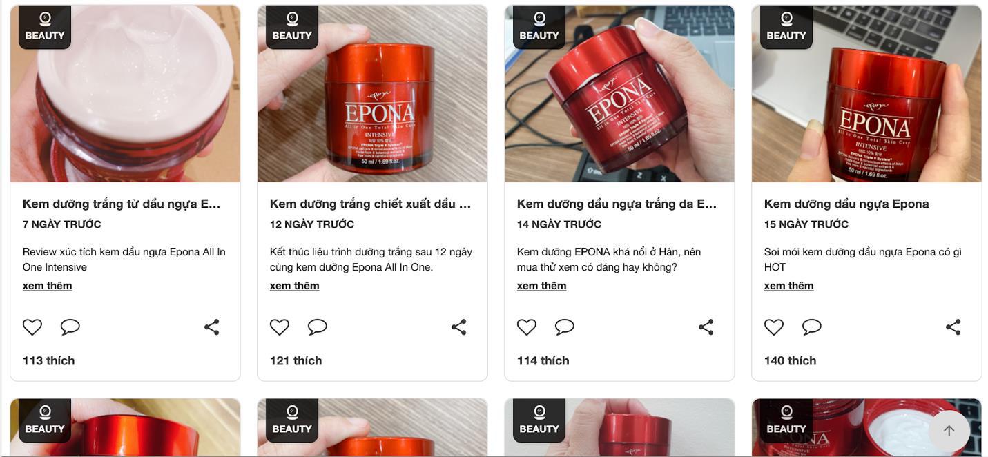Cộng đồng mạng đua nhau review lọ kem dưỡng trắng chống lão hóa Epona Cream all in one, liệu có hiệu quả như lời đồn? - Ảnh 1.