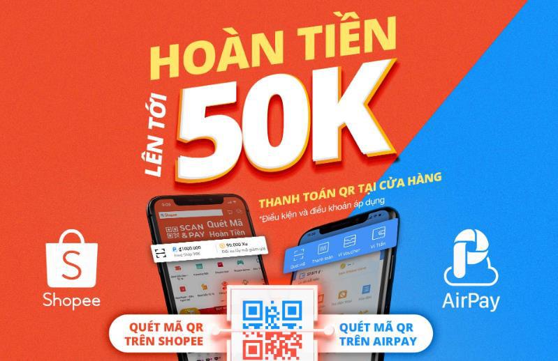 Scan&Pay, tính năng thanh toán nhanh tại điểm bán từ Shopee - Ảnh 1.