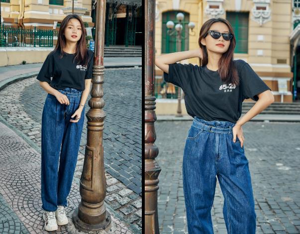 Street style hội mặc đẹp hè này: Diện toàn áo phông basic nhưng ai mix đồ cũng chuẩn xịn nhờ những thiết kế UT đình đám từ UNIQLO - Ảnh 2.