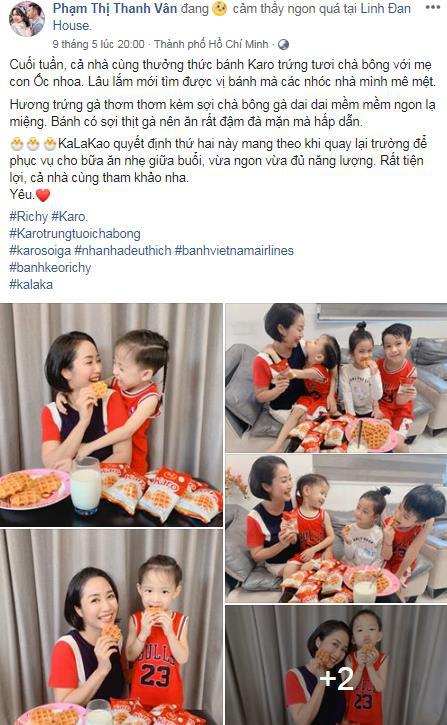 Karo trứng tươi chà bông – chiếc bánh đốn tim Trang Lou và Ốc Thanh Vân - Ảnh 3.