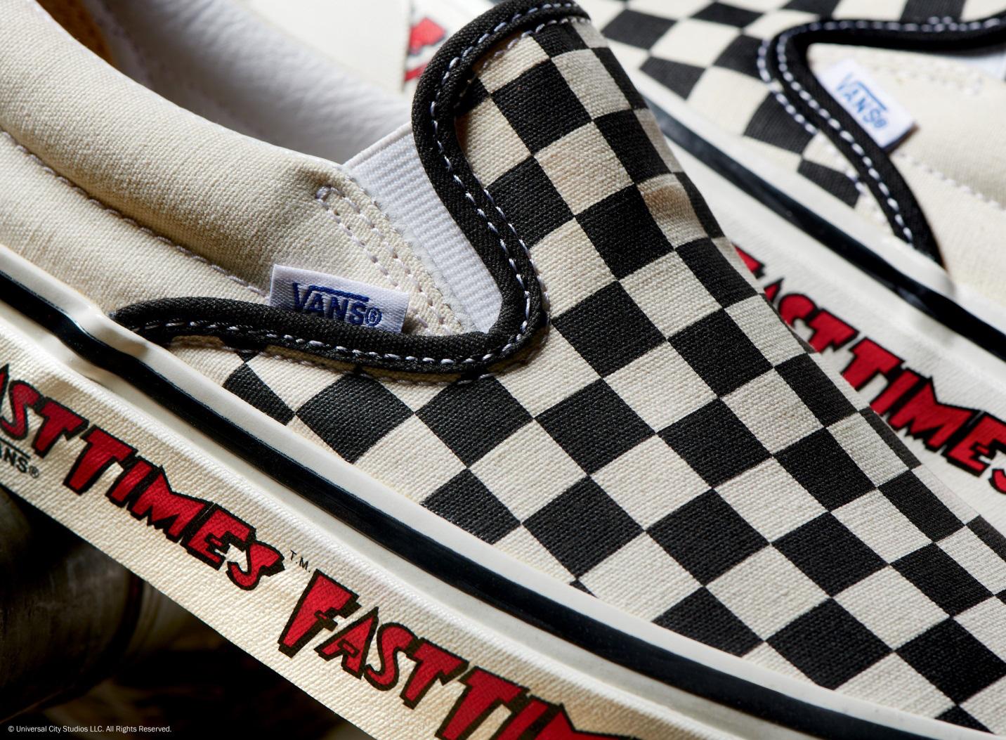Vans x Fast Times nhắc lại màn debut kinh điển của đôi Slip-on Checkerboard những năm 80 - Ảnh 3.