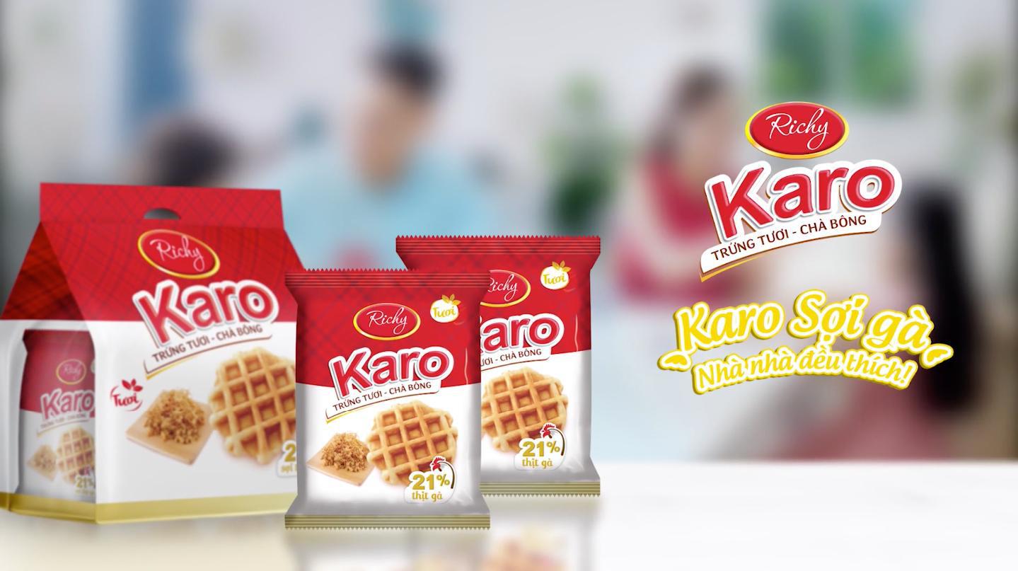 Karo trứng tươi chà bông – chiếc bánh đốn tim Trang Lou và Ốc Thanh Vân - Ảnh 4.