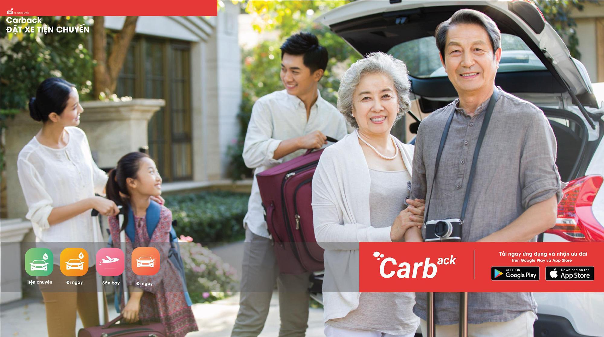 Carback: Đặt xe con đi tỉnh, du lịch, về quê giá bằng đi xe khách! - Ảnh 1.