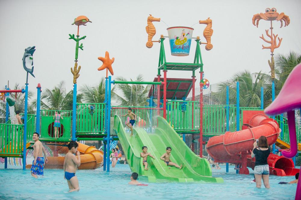 Công viên biển Hà Nội hoạt động trở lại từ ngày 30/5 sau đại dịch Corona - Ảnh 2.