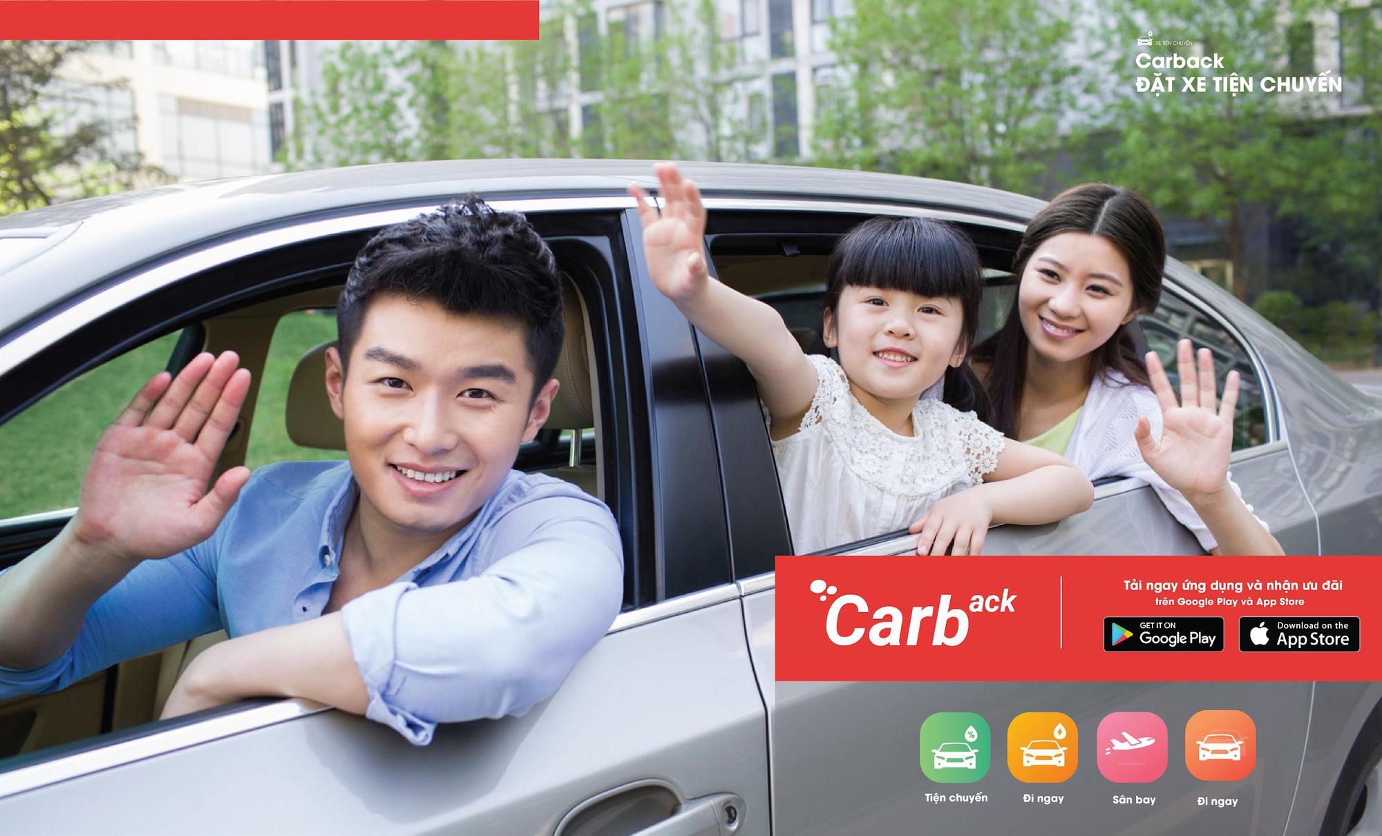 Carback: Đặt xe con đi tỉnh, du lịch, về quê giá bằng đi xe khách! - Ảnh 3.