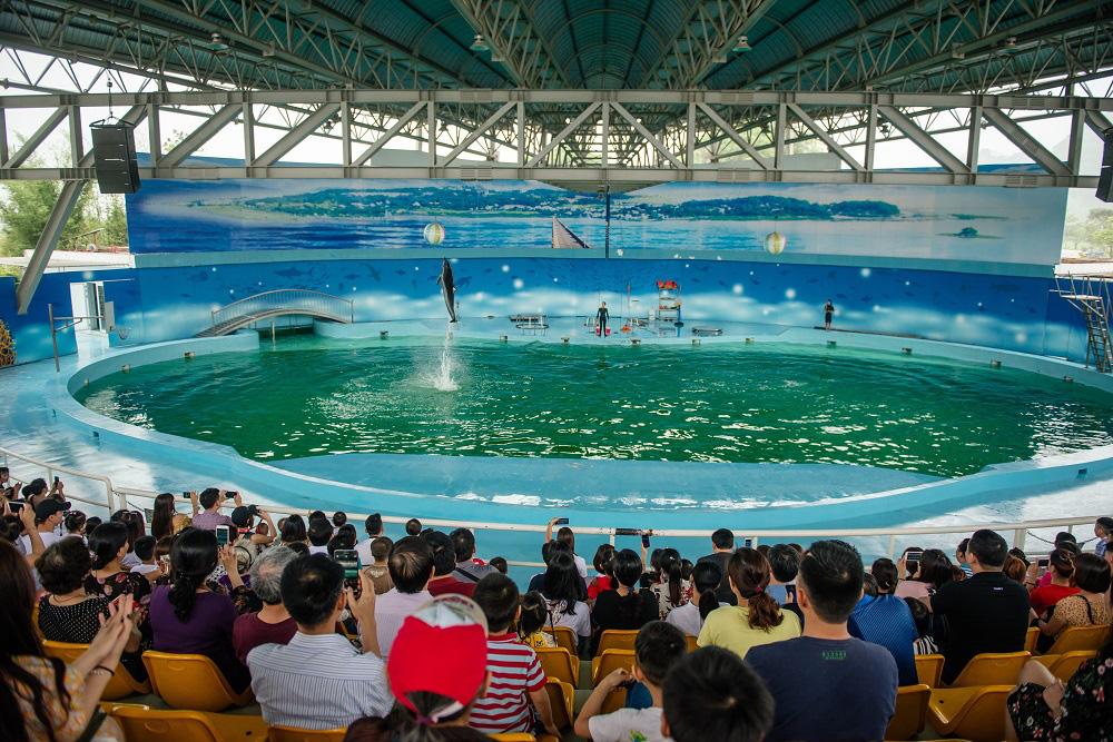 Công viên biển Hà Nội hoạt động trở lại từ ngày 30/5 sau đại dịch Corona - Ảnh 3.