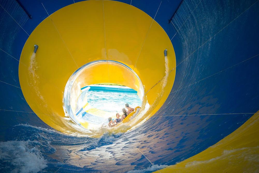 Công viên biển Hà Nội hoạt động trở lại từ ngày 30/5 sau đại dịch Corona - Ảnh 4.