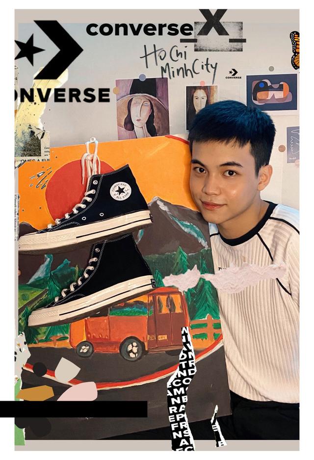 """Converse thực hiện triễn lãm tranh nghệ thuật kiến tạo cùng thông điệp """"PEACE"""" thời 4.0 - Ảnh 4."""