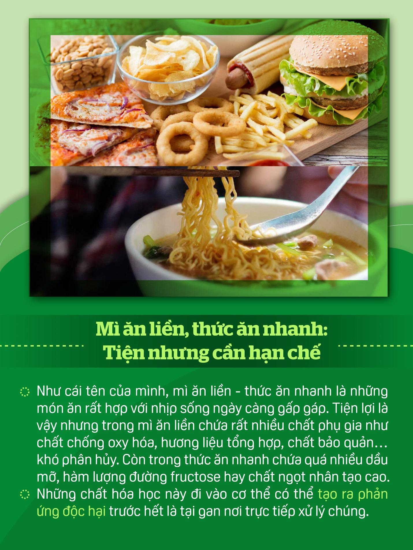 Nấu ăn mùa nắng nóng nhớ hạn chế những thực phẩm này để bảo vệ gan - Ảnh 3.