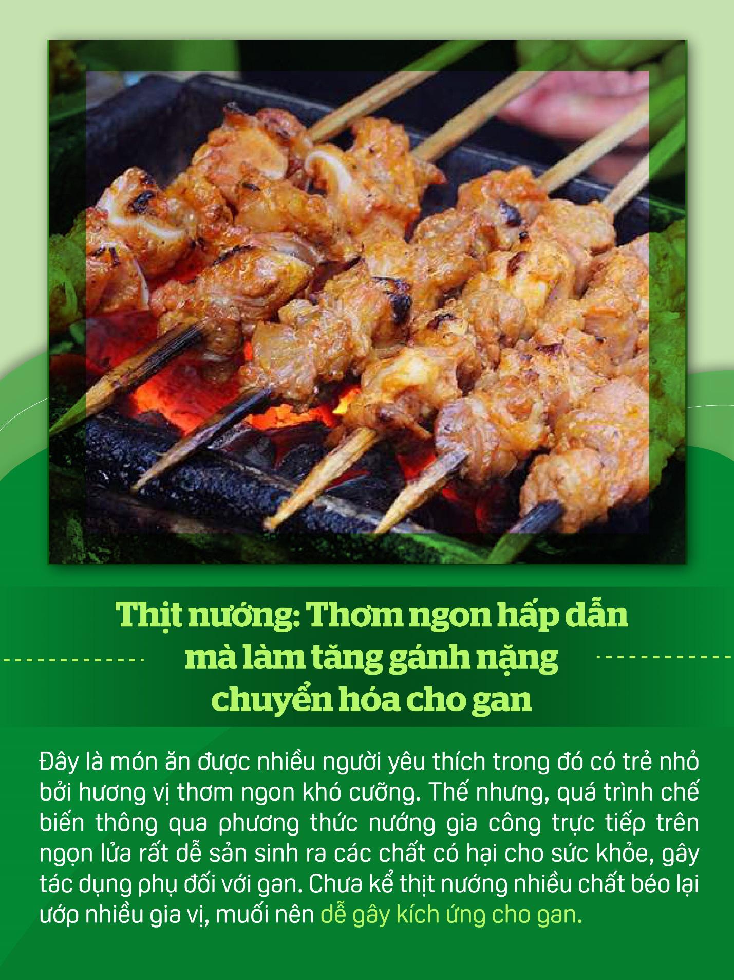Nấu ăn mùa nắng nóng nhớ hạn chế những thực phẩm này để bảo vệ gan - Ảnh 4.